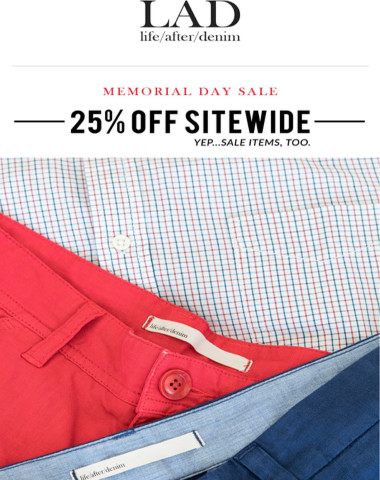 Less Than 48 Hours Left to Shop 25% Off Sitewide