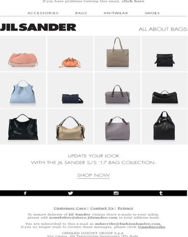 All About Bags | Spring/Summer 2017 Collection