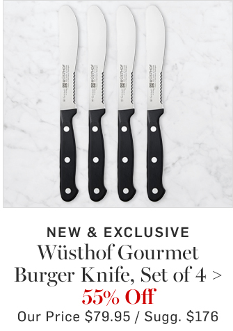 Wüsthof Gourmet Burger Knife, Set of 4 - 55% Off
