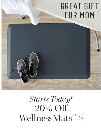 20% Off WellnessMats®*