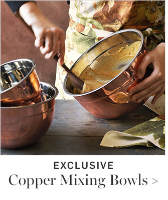 EXCLUSIVE - Copper Mixing Bowls