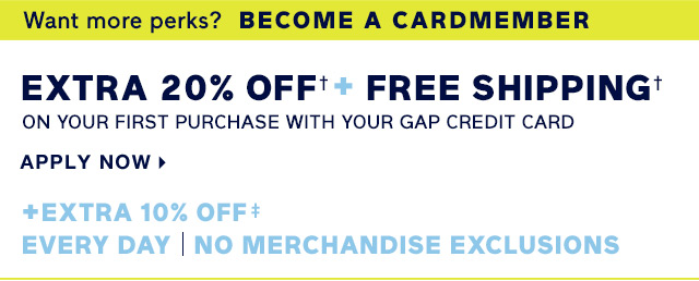 Gap - Friendly note! You've scored something great