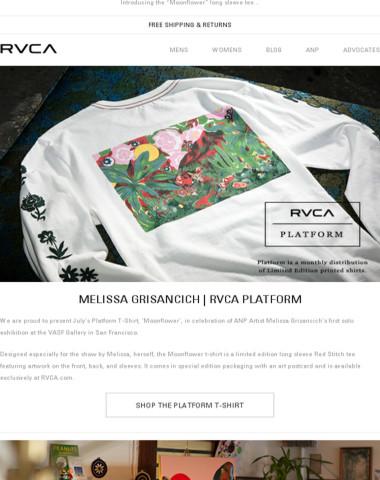 Melissa Grisancich for RVCA Platform
