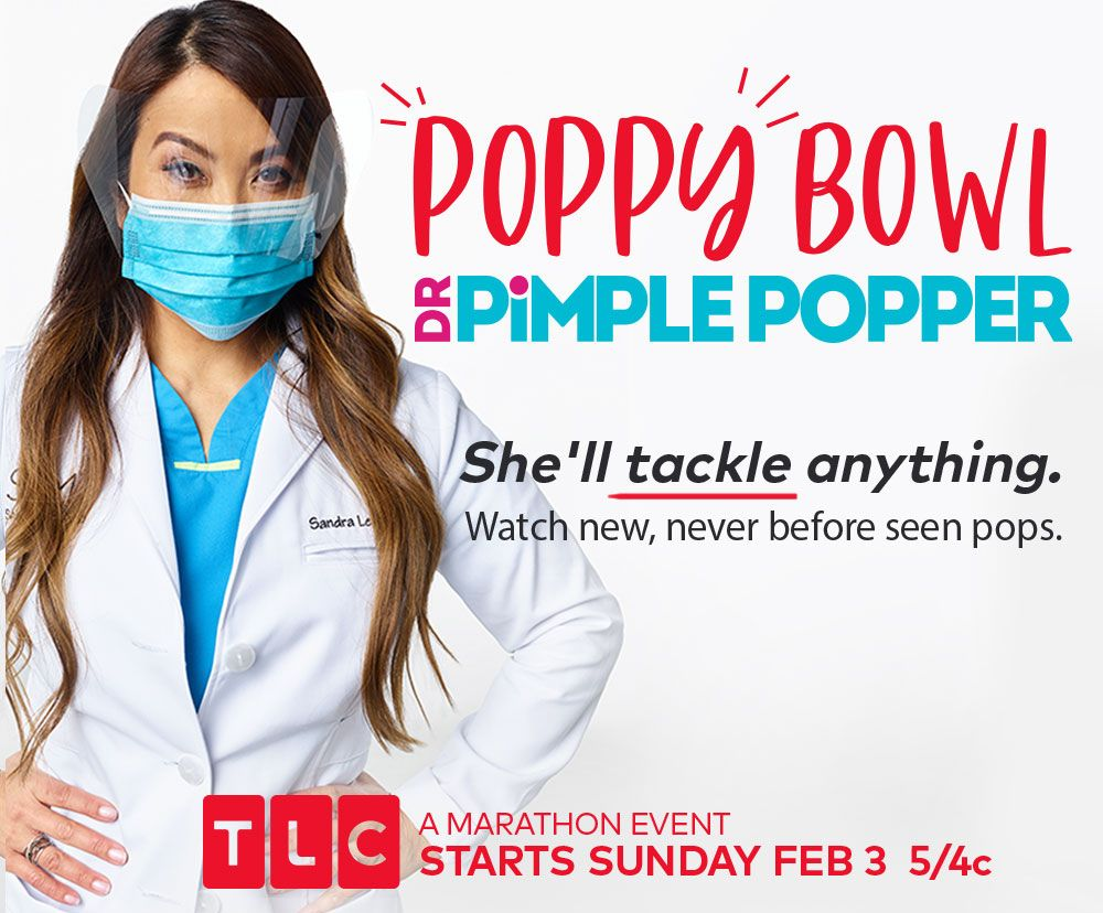 SLMD Skin Care - Get Ready For Dr  Pimple Popper's Poppy Bowl