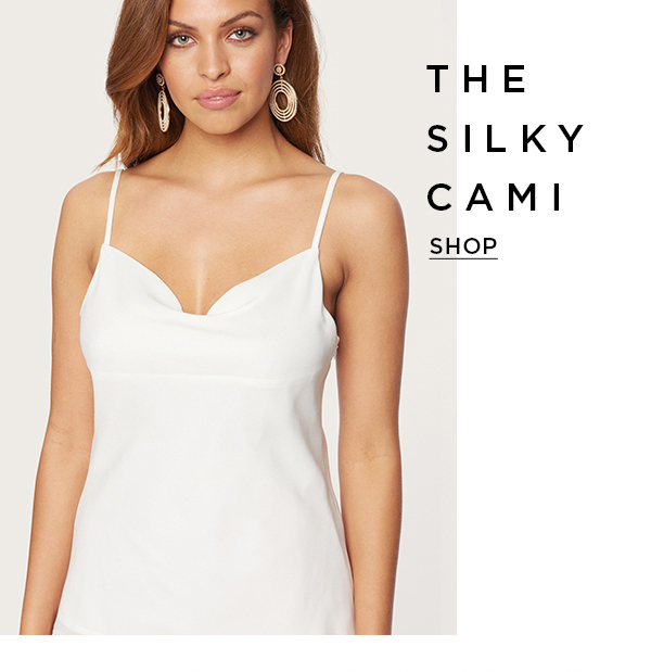 The Silky Cami Shop Now