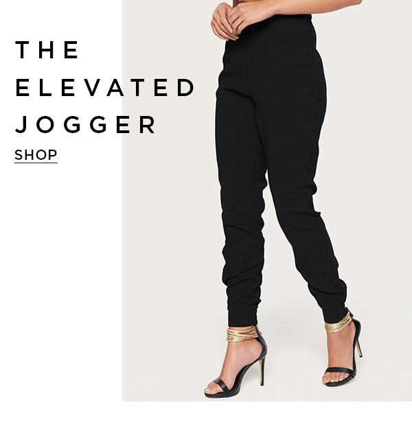 The Elevated Jogger Shop Now