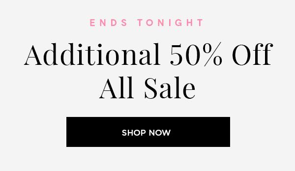 Additional 50% Off