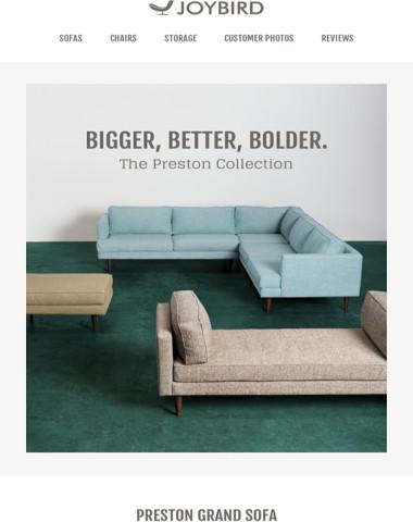 Outstanding Joybird Furniture The Preston Is Here Uwap Interior Chair Design Uwaporg