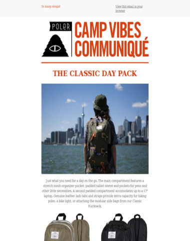 Classic Day Pack   Portland and Laguna Events