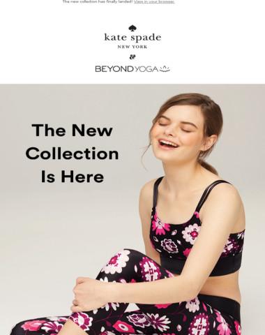 NEW kate spade new york X Beyond Yoga