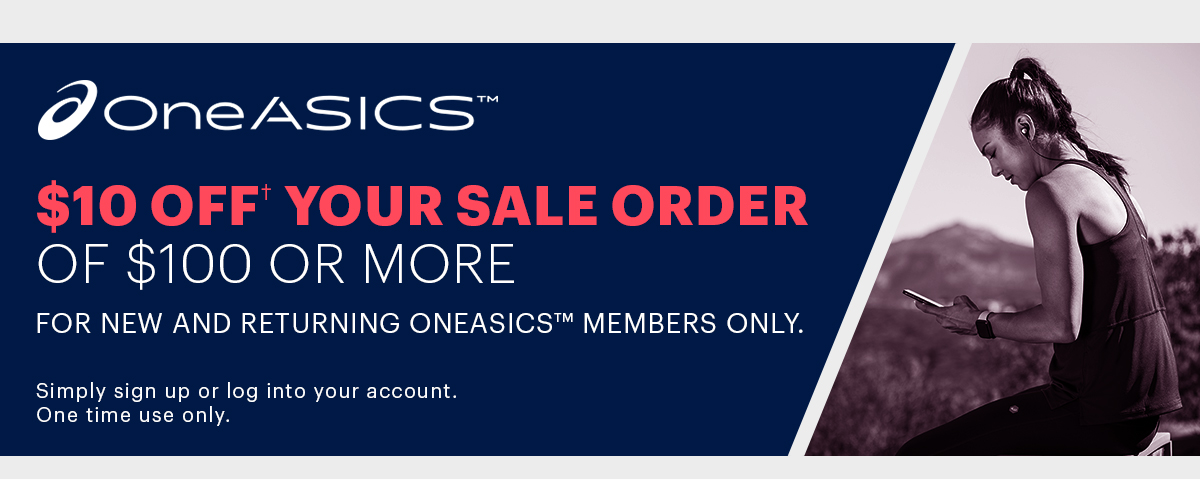 OneASICS Exclusive Offer