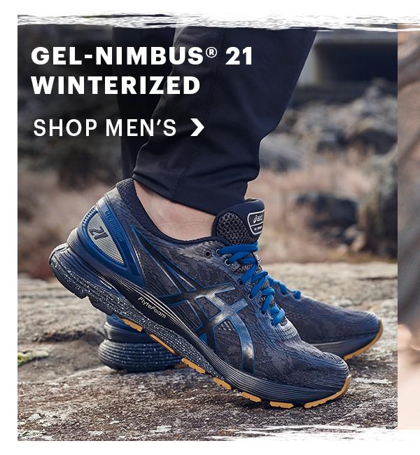 Details about Asics Gel Nimbus 21 Winterized Mens Trail