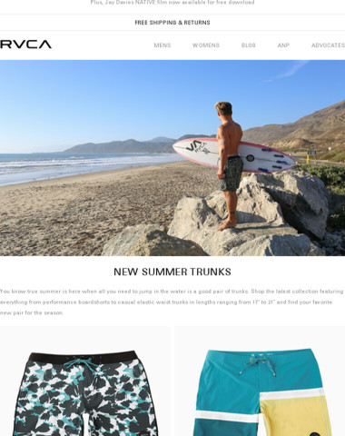 New prints, new colors - new trunks!