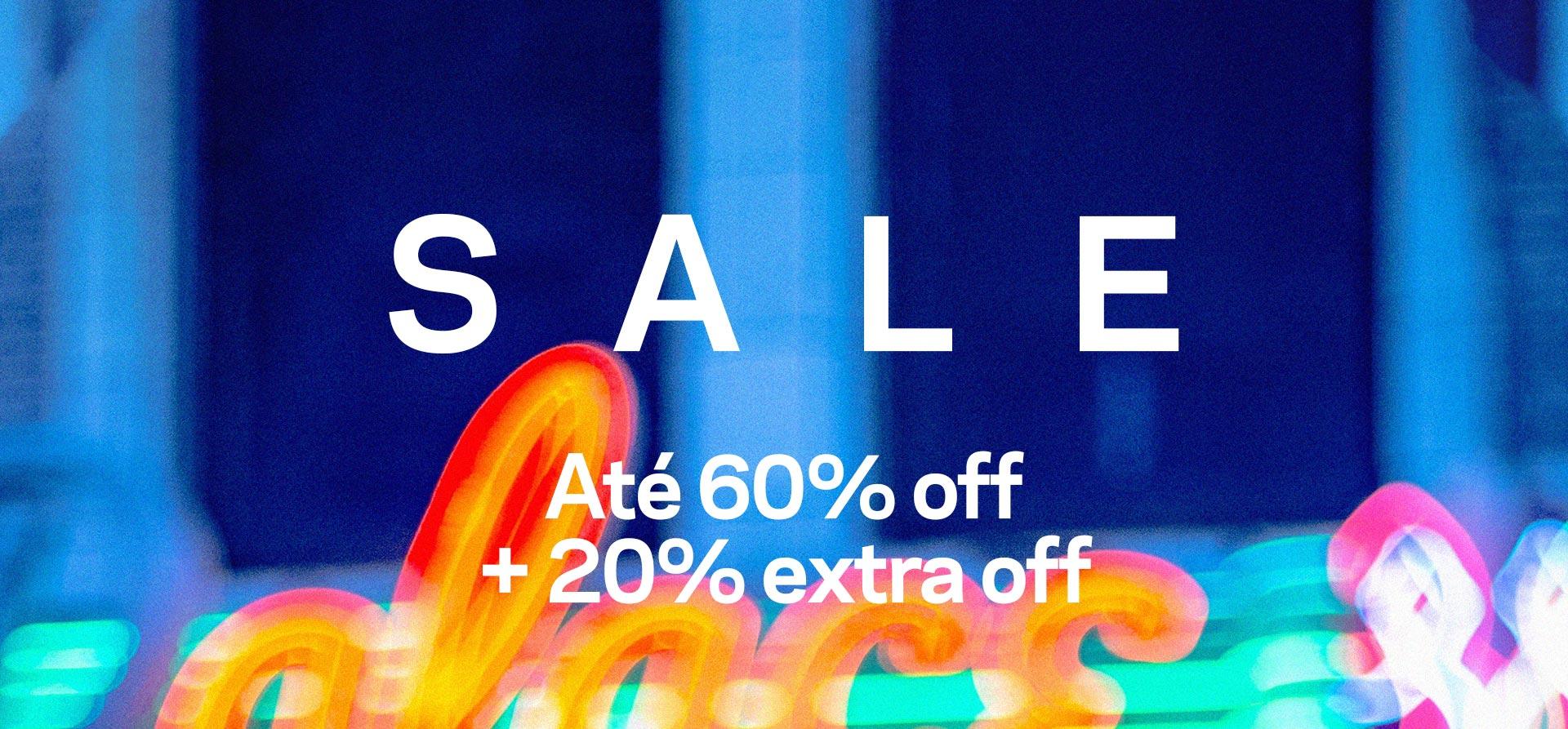 Sale Até 50% off
