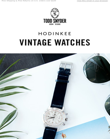 NEW | Vintage Watches From Hodinkee