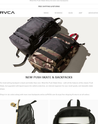 Our best selling backpack is back!