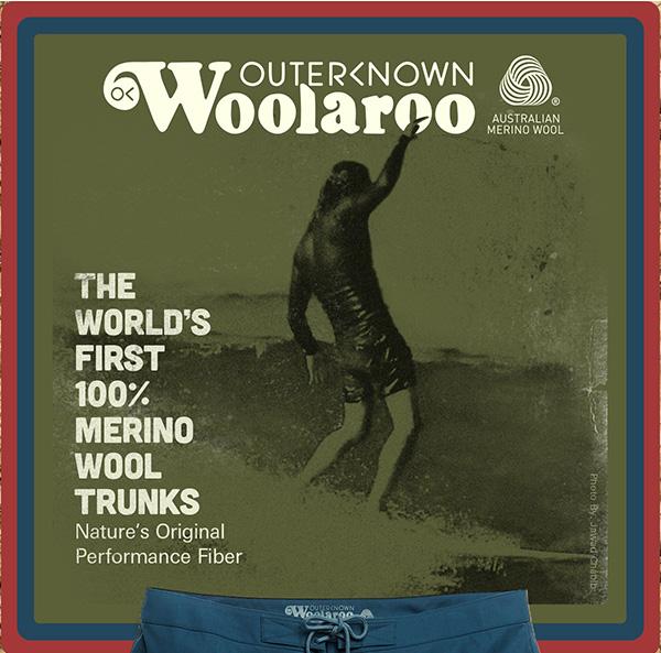 The World's First 100% Merino Wool Trunks