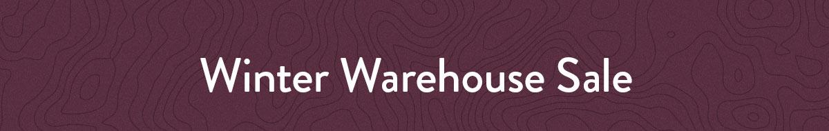 Winter Warehouse Sale