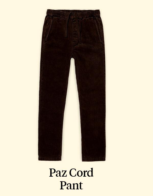 PAZ CORD PANTS