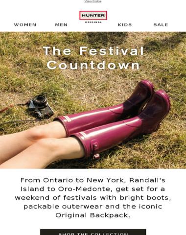The Festival Countdown