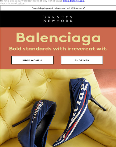 Be Bold in Balenciaga