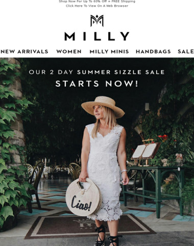 Summer Sizzle...Up To 60% Off!