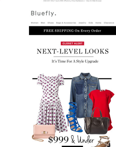 Your New #OOTD: $999 & Under Valentino, Salvatore Ferragamo, Stella McCartney, Fendi & More