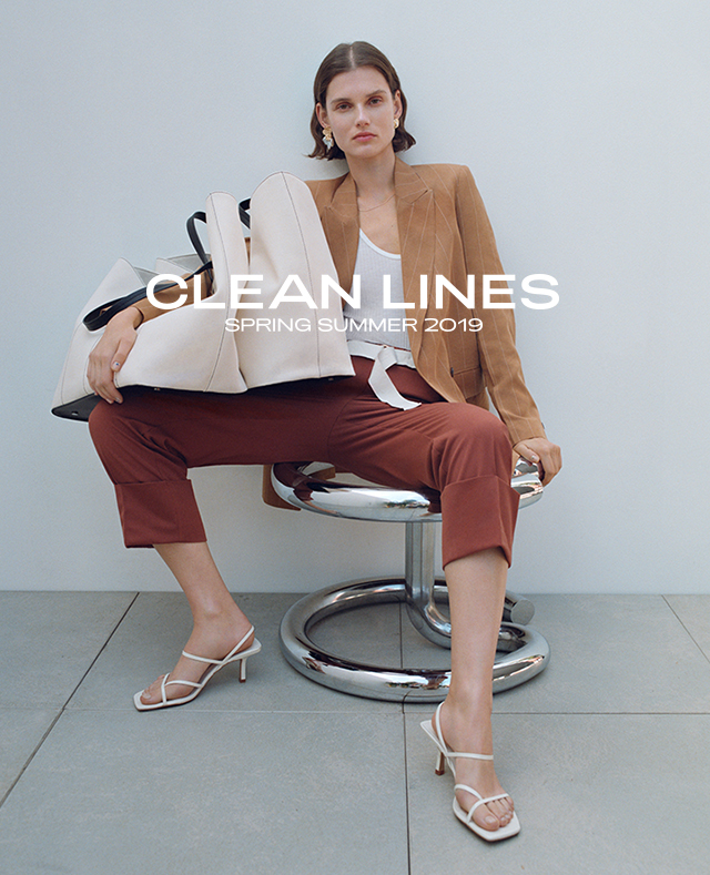 fa26b952b7f Embrace Spring with new Clean Lines collection. With soft  structured,classic pieces ideal for every wardrobe. Step into this season
