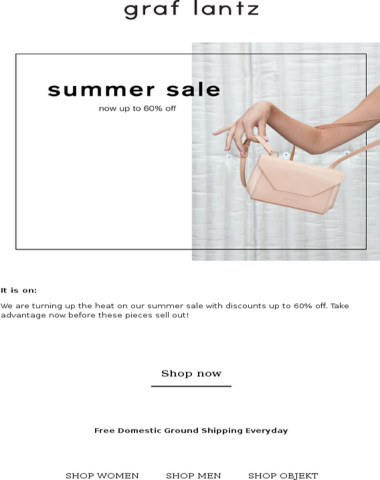 Now Up To 60% Off: Our Summer Sale is Heating Up
