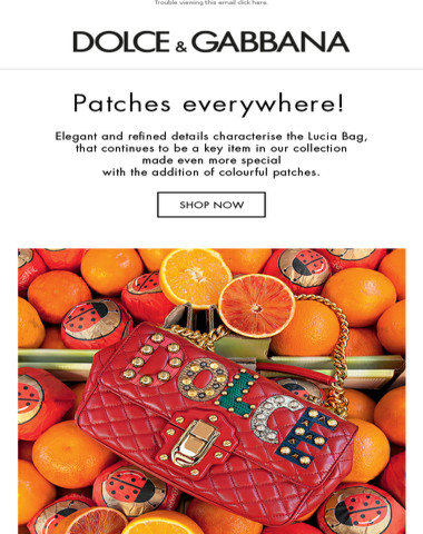 Presenting the new Lucia Bag with colorful patches
