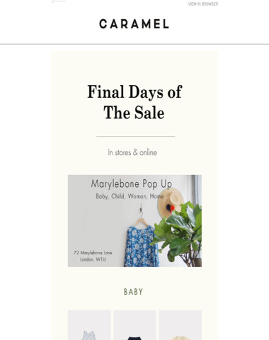 Final Days Of The Sale | Shop Now