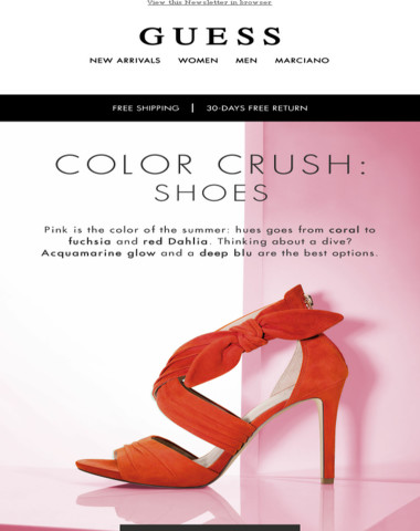 Color crush: summer shades to love on your feet