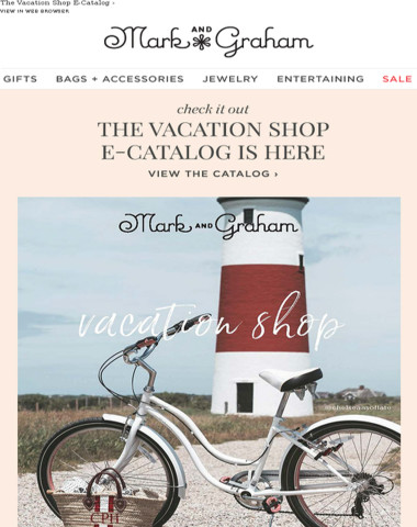 Check out the Vacation Shop E-Catalog!