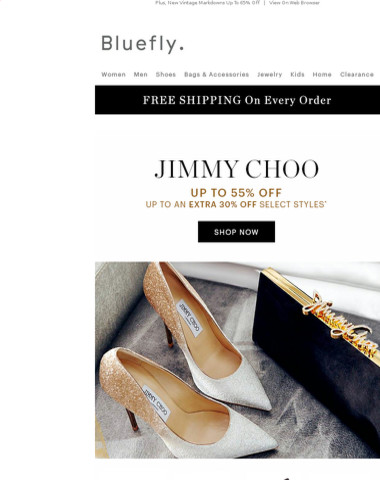 Don't Wait On This: JIMMY CHOO Up To 55% Off + Up To An EXTRA 30% Off Select Styles