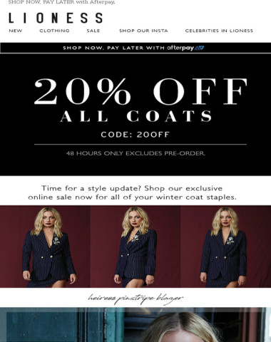 JUMP ONTO THIS OFFER!