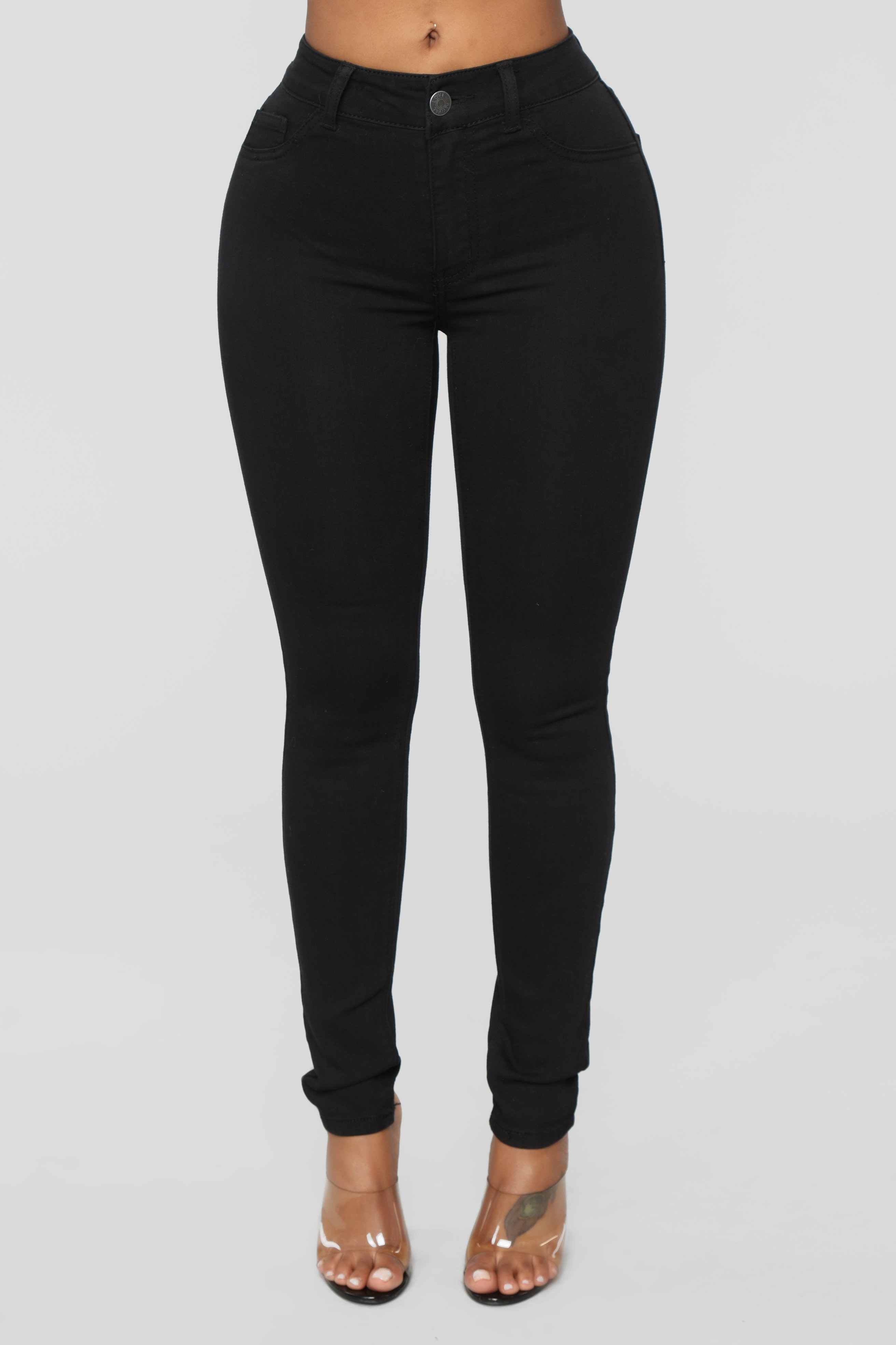 Tell Me What You Want Skinny Jeans - Black