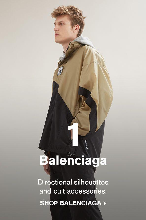 SHOP BALENCIAGA >