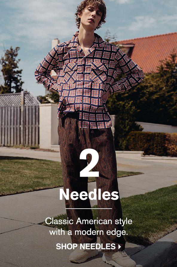 SHOP NEEDLES >