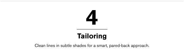 TAILORING >