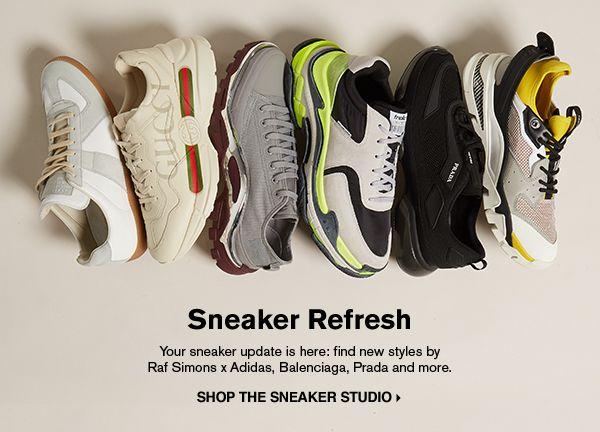 SHOP THE SNEAKER STUDIO >