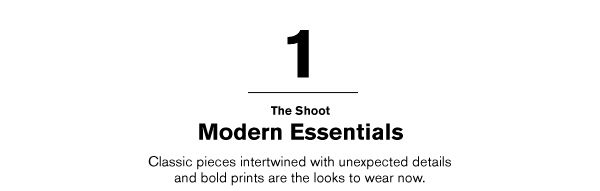 THE SHOOT MODERN ESSENTIALS