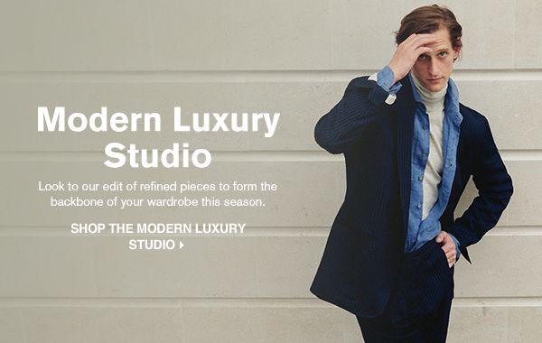 SHOP THE MODERN LUXURY STUDIO >
