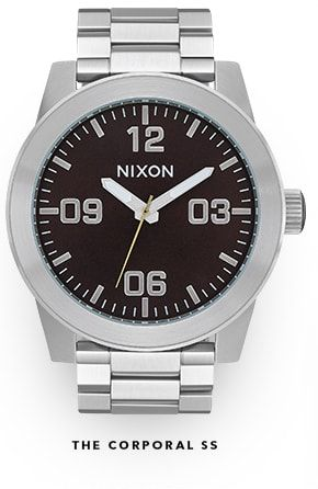 The Corporal SS Watch by Nixon