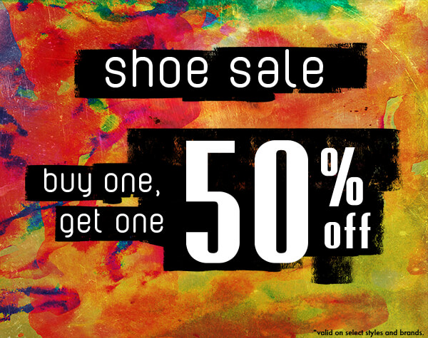 SHOE SALE - Buy One and Get Another Pair Half Off | SHOP The Shoe Sale Now