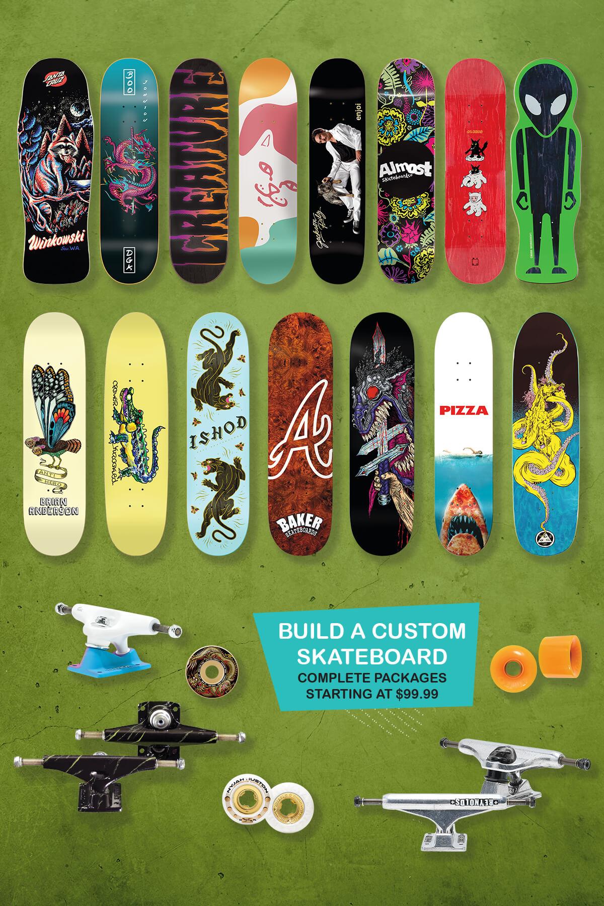 Zumiez - ? Fresh Stripes from WELCOME + Retro Skate Decks