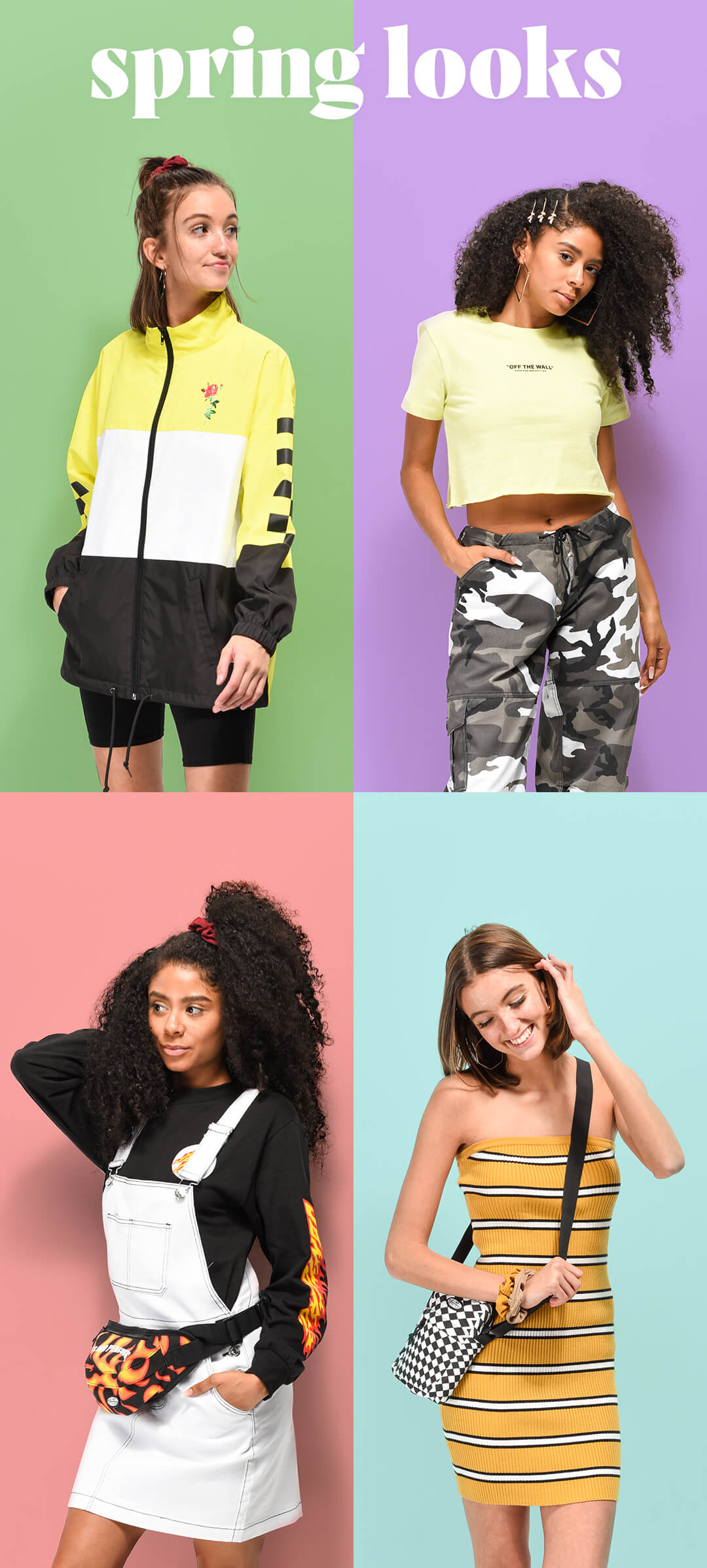 WOMEN'S SPRING STYLES & TOP SELECTED BRANDS FOR SPRING - SHOP LOOKS