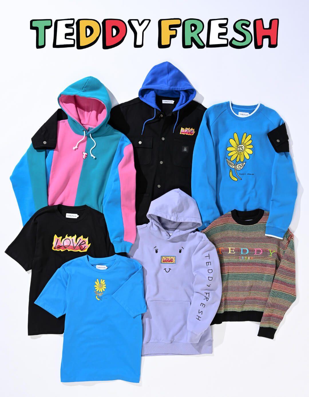 TEDDY FRESH NEW ARRIVALS - THE COLORBLOCK STYLES ON EVERYONE'S LIST-SHOP NOW