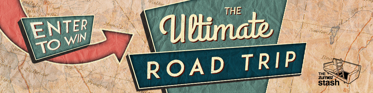 WIN THE ULTIMATE ROAD TRIP - ONLY FROM THE ZUMIEZ STASH