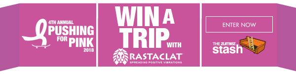 Enter To Win A Trip to Pushing For Pink with Rastaclat in San Francisco-Only Through The Zumiez Stash | ENTER NOW