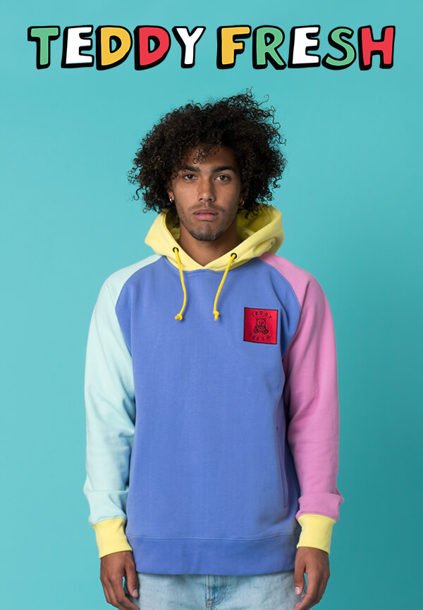 Color Blocked Styles And More New Hoodies From Teddy Fresh Are Available | SHOP TEDDY FRESH NOW